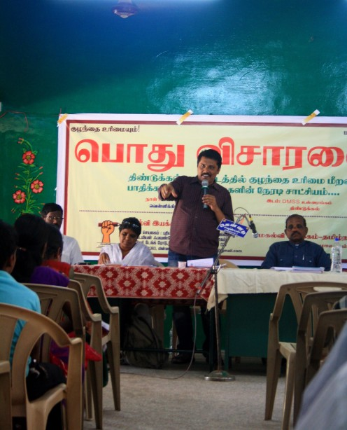Kathir talar under public hearing