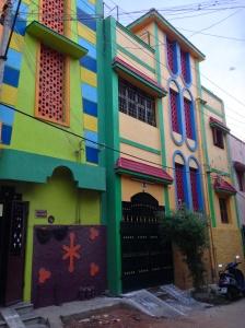 Färgglada hus!
