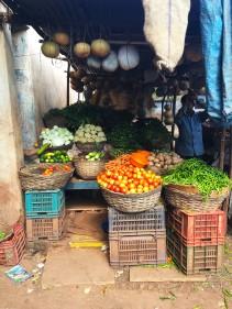 Grönsaksmarknaden i Zaheerabad