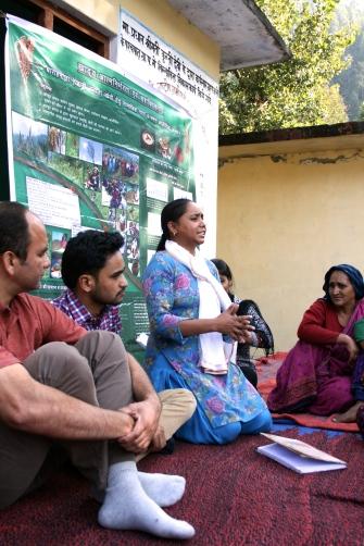 Vår kollega Rajni Bisht presenterar sig
