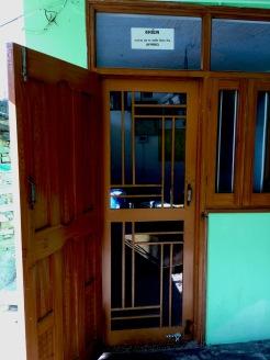 Dörren in till kontoret