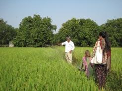 På fältbesök i Bhongir.