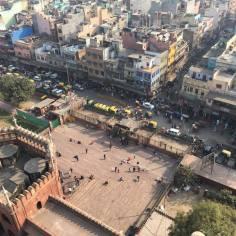 Utsikt över Delhi