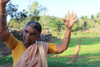Dottammal berättade med som inlevelse och pondus om hennes åkrar och odlingar
